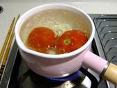 簡單料理:羅勒透抽義麵1