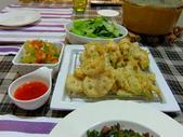 日式魚類料理:絲瓜海鱸捲天婦羅 (1)