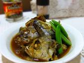 日式魚類料理:醬煮雜魚頭 (3)