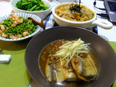 中式魚類料理:蔭冬瓜滷虱目魚.jpg