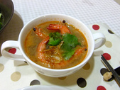 南洋魚類料理:酥炸大眼鯛佐泰味醬汁與酸蝦湯 (1)
