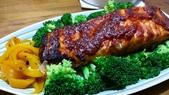 日式魚類料理:辣醬鮭魚