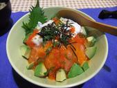 日式魚類料理:生鮭丼飯 (8)