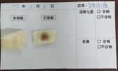 106-2每日食材檢驗:1070509麵疙瘩快篩