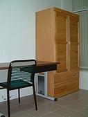 台南市衛國街(1F-1):赤陽實木衣櫃 OA電腦桌 健康椅