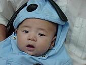 Henry生活照(四個月):史奴比變裝秀.JPG
