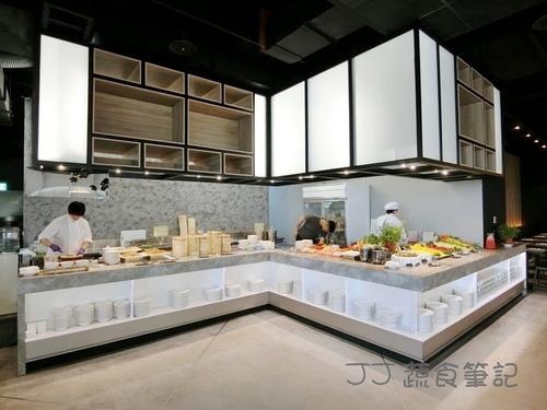 天菜豐巢-取餐區 JJ.JPG - 中部蔬食