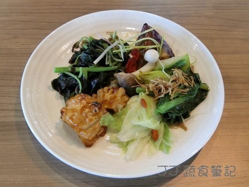 天菜豐巢-熱炒3 JJ.JPG - 中部蔬食