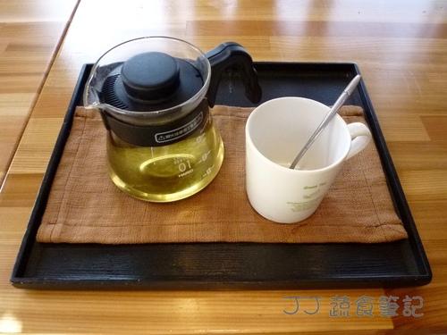 映月山房-紫錐花茶 JJ.JPG - 中部蔬食