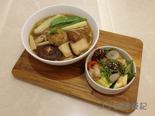 微品味-東方獅子頭蕎麥麵 JJ.JPG - 中部蔬食