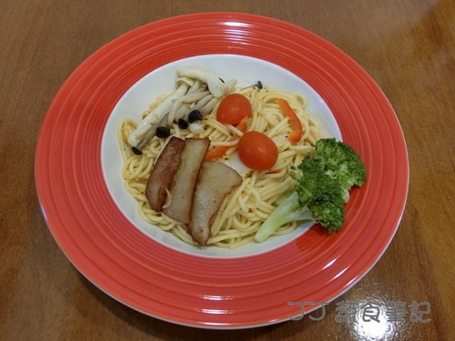 轉角二間-紅醬義大利麵 JJ.JPG - 中部蔬食