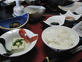 2008 Sep-04 東京蜜月 day 7 part 1:白飯登場