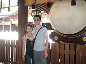 2008 Aug-31 東京蜜月 day 3:遇到好心的外國人幫我們合照