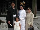 2008 Aug-31 東京蜜月 day 3:遇到有人結婚耶