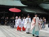 2008 Aug-31 東京蜜月 day 3:這是另一對,正在舉行儀式吧!