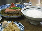 2008 Sep-2 東京蜜月行 day 5:我點的 金目鯛餐 ;也是極品!