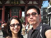 2008 Sep-2 東京蜜月行 day 5:來到雷門,當然要合照一下摟!