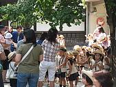 2008 Sep-2 東京蜜月行 day 5:街道裡面有幼稚園,剛好遇到下課時間