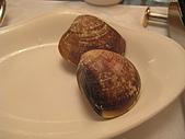 華西街之台南擔仔麵:一般般的蛤蜊