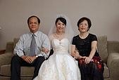 2008 June - M & J's wedding:和爸媽合影