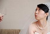 2008 June - M & J's wedding:吃麵包ing