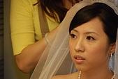 2008 June - M & J's wedding:戴上頭纱