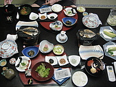 2008 Sep-04 東京蜜月 day 7 part 1:超豐盛的一餐