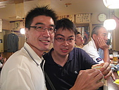 2008 Aug-29 東京蜜月 day 1:unair與多年不見的同學相約在東京!