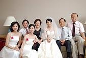 2008 June - M & J's wedding:與家人合影