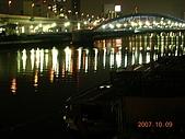 2007日本行--淺草週邊+明星手印:駒形橋夜景。
