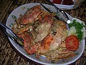 [餐廳] AKAME_釣魚餐廳_峇里島:AKAME_釣魚餐廳 好吃的鹹蛋螃蟹