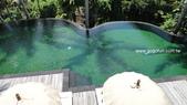 [飯店] Komaneka Rasa Sayang_Ubud區:Komaneka Rasa Sayang 主要泳池一景