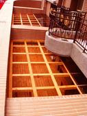 [採光罩]板橋金門街:美空設計-南方松格柵