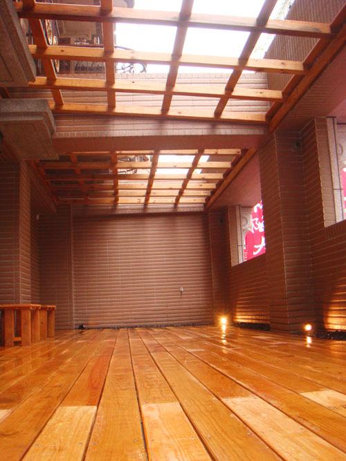 [採光罩]板橋金門街:美空設計-南方松木地板