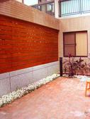[採光罩]青山鎮環湖特區:美空設計-南方松圍籬搭配鵝卵石之日式風味