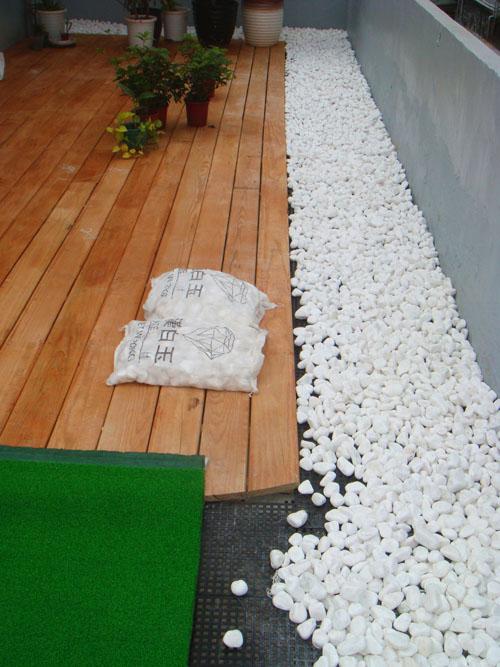 [地板鋪設]台北市和平東路:美空設計-鵝卵石