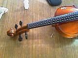 樂器專欄:小提琴頭摔斷修復