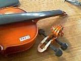 樂器專欄:小提琴頭摔斷