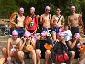 970831橫渡日月潭成功:散漫的輕鬆遊泳隊