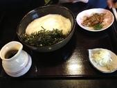 九州自由行 01.11~18.2014:(01.12)午餐:喬麥麵,上面那層白白是滿滿的山藥泥