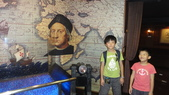 京阪神自由行 06.25.2013:觀光船聖瑪麗亞號船倉內