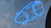 京阪神自由行 06.25.2013:大阪通天閣_電梯內的天花板