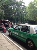 香港、澳門行 09.15.2012:前往迪士尼的計程車