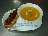 西式料理教學菜:5-9-2  Carrot Soup With Caramelized Apple  香蘋紅蘿蔔湯.JPG