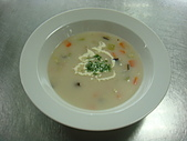 西式料理教學菜:5--39  CORN CHOWDER巧達玉米湯.JPG