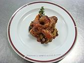 西式料理教學菜:1-39   ITALIAN STYLE ASSORTED SEAFOOD 義式煎海鮮.JPG