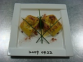 西式料理教學菜:1--45  BAKED SALMON PUFF PASTRY WITH WHITE  WINE CREAM SAUCE 1.JPG