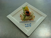 西式料理教學菜:1☻香煎盧魚附白酒汁PANFRIED SEAPERCH WITH CREAM SAUCE5.JPG