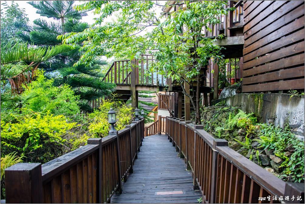 春大地渡假山莊 景觀步道
