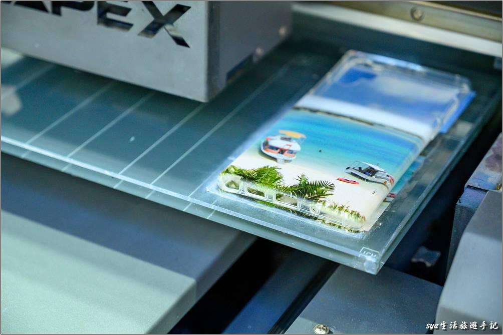 手機殼直噴印刷完成-客製化商品